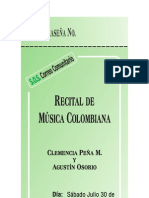 Boleta Recital