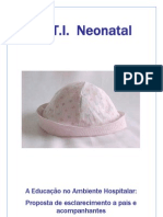 Cartilha Uti Neontal USF