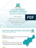 NEEP Building Energy Efficiency Overview-July 2011