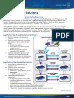 LogRhythm High Availability Solutions Data Sheet