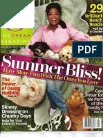 Bomboozled in O, The Oprah Magazine
