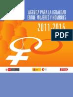 Agenda Igualdad Hombres Mujeres 2011 2005 - MIMDES