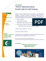 PASCD Golf and World Cafe
