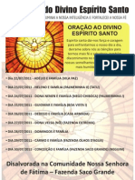 PROCISSÃO DIVINO ESPIRITO SANTO