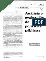 Curso Politica Educativa 03 Analisis de Politicas Publicas