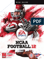 NCAA Football 12 Starter Guide
