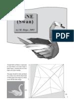 Origami Cisne Sirgo
