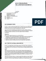 Resource Utilisation Planning and Management