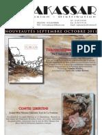 Catalogue Makassar // sorties sept-oct 2011