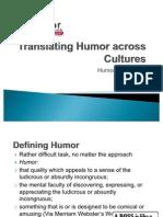 Translating Humour