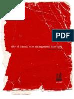 Case Management Handbook - City of toronto case management handbook for city-operated shelters april 2005
