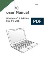 Asus Eee Pc Lamborghini Vx6 Blk119m Laptop Manual