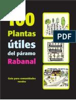 100 Plantas útiles del páramo Rabanal, guía para comunidades rurales