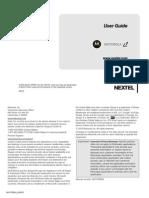 Motorola i1 User Guide US ENG Sprint NNTN7985-A