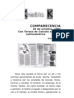 Con Teresa de Calcuta en Latinoamérica