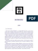 M. Morya - Infinito Vol. 1