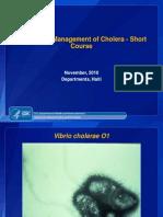 Case Management Cholera CDC