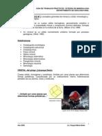 Guia de Trabajos Practicos Mineralogia