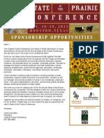 2011 SOP Sponsorship Letter - V1