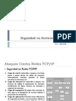 SEGURIDAD TCP-IP