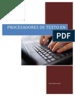 Procesadores de texto en línea