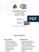 MATLAB R Dictionary