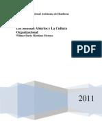 La Planeación de sistemas abiertos y cultura organizacional