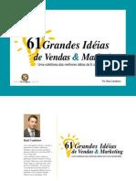 61 Grandes Ideias de Vendas e Marketing - Raul Candeloro