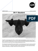 NASA Facts SR-71 Blackbird 1998