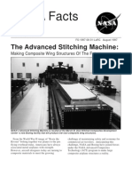 NASA Facts the Advanced Stitching Machine