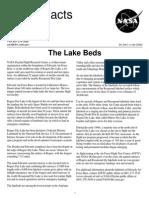 NASA Facts the Lake Beds