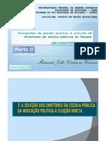 Concepção de gestão escolar e eleição de diretores escola pública do Paraná_PARTE 2