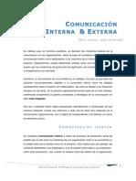 Comunicacion Interna y Externa