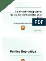Bio Combustibles Peru