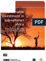 IFC Sustainable Investment in Sub-Saharan Africa