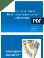 Impacto Deuda Externa en Republica a (Hasta 2008)