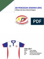 Rekabentuk Uniform Kelab Pencegahan Jenayah (KPJ)