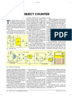 Infrared Object Counter