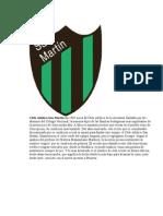 Equipos Sanjuaninos Sus Escudos y Sus Significados
