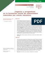 Efecto de estrógenos y progestinas