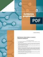 Acidosis Propiponica