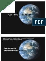 Presentacion_Cambio Climático