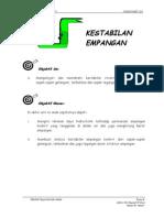 Unit 2 ( KESTABILAN EMPANGAN ) - hidraulik