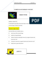 Unit 1 ( ULTIMATE LIMITS STATE DESIGN CONCEPT ) -REINFORCED CONCRETE STRUCTURAL DESIGN