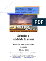 Cartilha Solar 2008