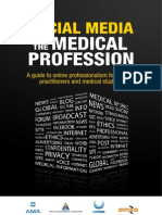 AMA NZMA Guidelines for Social Media and the Medical Profession