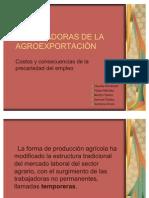 TRABAJADORAS DE LA AGROEXPORTACIÓN ximena