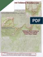 2007 Thai Secret Map on Preah Vihear