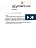 Applicatiion of Geostatistical Technnique to Gravity Data