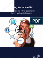 Social Media and Medicine Guidance - BMA May 2011